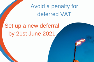 Clear Vision VAT deferral scheme
