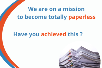 Clear Vision Financial Management becomes paperless